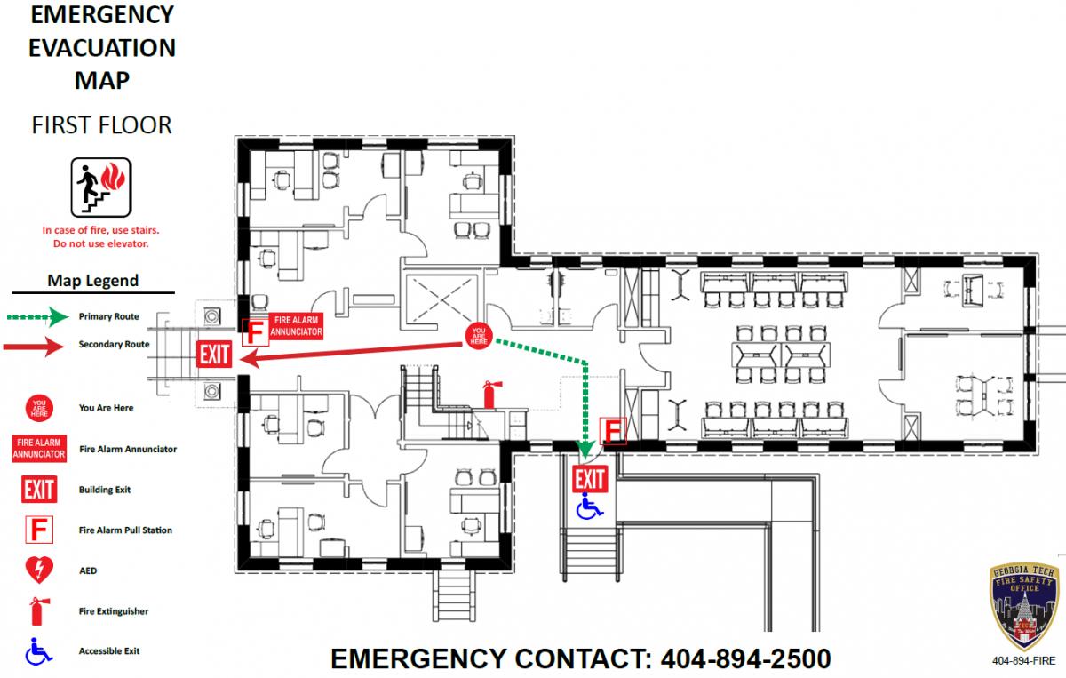 Emergency Evacuation Map