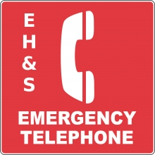 ehs emergency phone